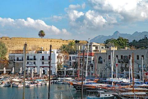 Harbour in Kyrenia