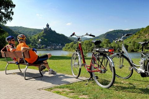 cycle break on the Moselle