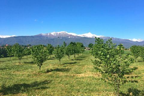 Eurobike Radtour Turin nach Sanremo Ausblick in Saluzzo