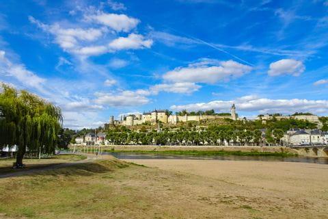 Castle Azey-le-Rideau on the Loire Cycle Path