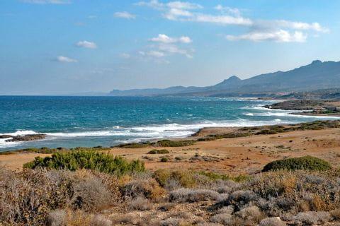 Coastline on the Mediterranean