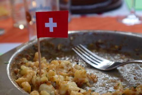 Käsespätzle in der Schweiz