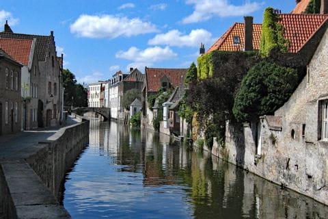 Fluss durch Gent