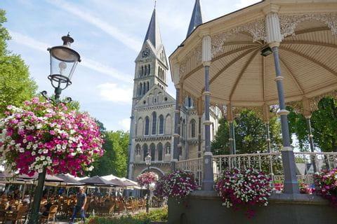 Blick auf die Kirche in Roermond