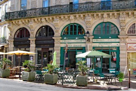 Französisches Cafe