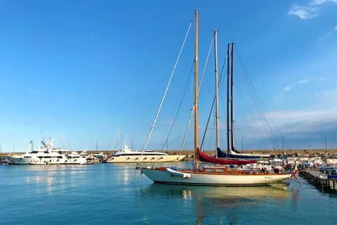 Hafen von Sanremo