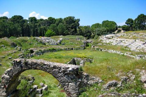 Roman theatre in Syracus