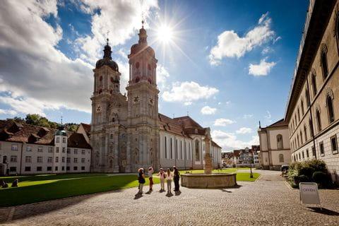 Kirche im Stiftsbezirk St. Gallen