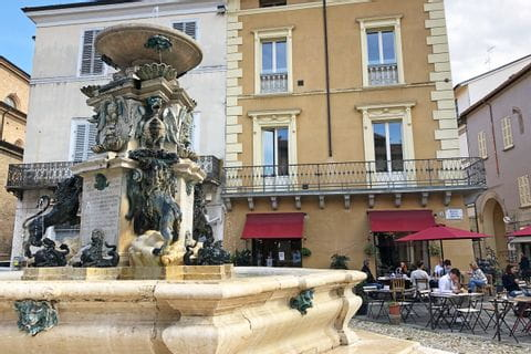 Fountain in Faenza