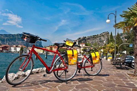 Bikes in Riva del Garda