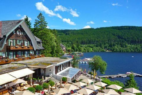 Hotel at Lake Titisee