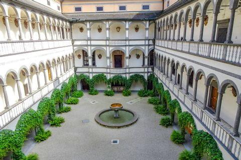 Schloss Greinburg Innenhof