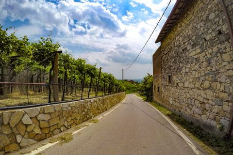 Radweg nach Vicenza