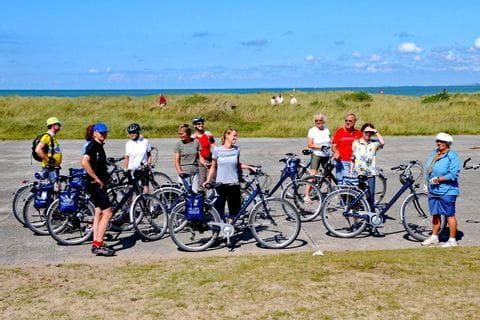 Radfahrer Gruppe