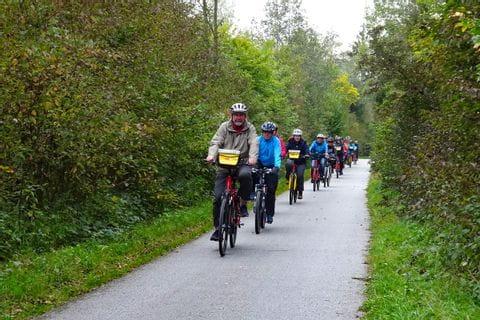 Fahrradfahrer Gruppe 1