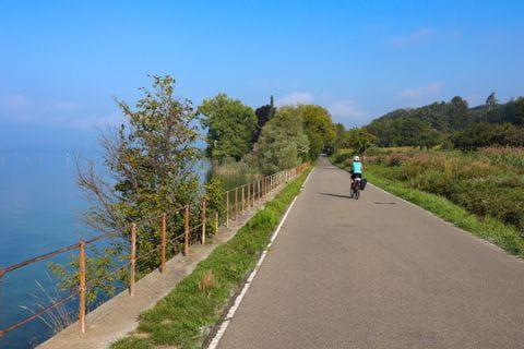Radweg am Bodensee