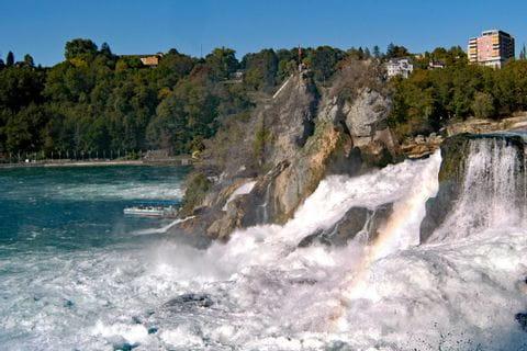 Rhine waterfalls in Schaffhausen