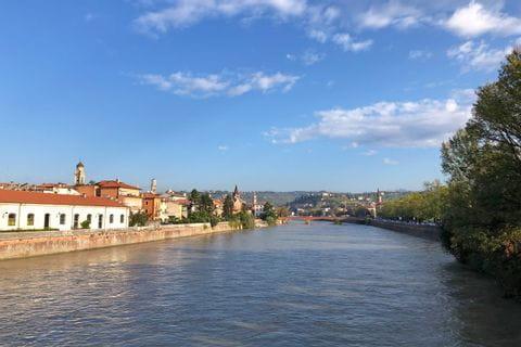 Impressionen des Ponte Scaligero