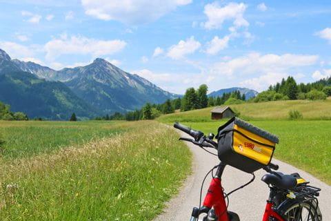 Unterwegs in den Alpentälern im Allgäu