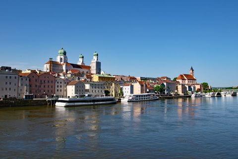 Hafen von Passau
