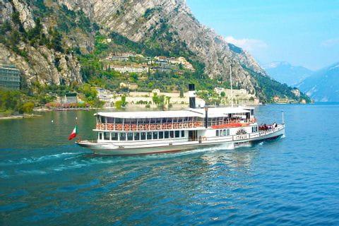 Ship at Lake Garda