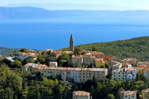 View of Labin