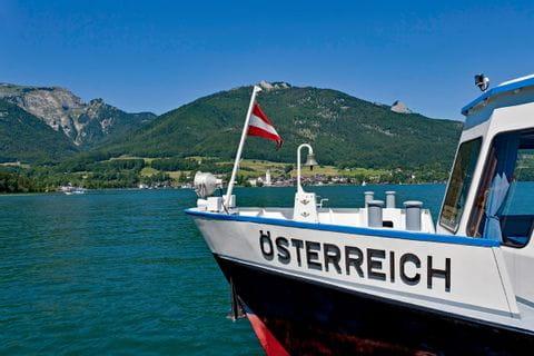 Ship at Lake Wolfgang