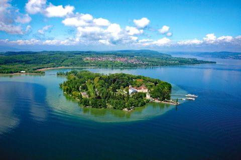 Atemberaubender Inselblick in Meinau am Bodensee