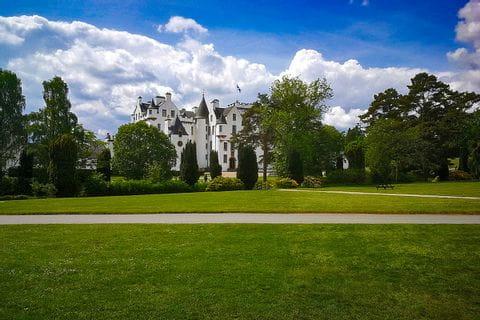 Schloss inmitten des Schlossgartens