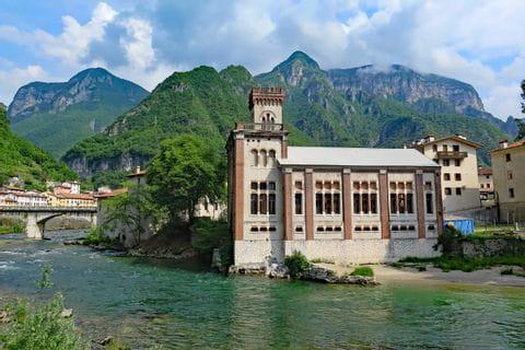 Blick auf Borgo Valsugana