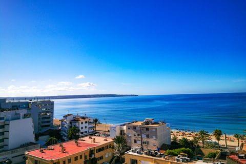 Hotel Java in Palma mit Meerblick