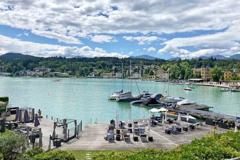 Kleiner Hafen am Faaker See
