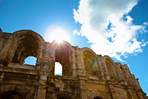 Aquädukt in der Provence