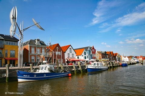 Harbour in Husum