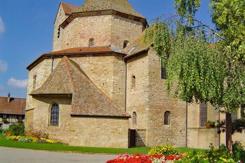 Romanische Abteikirche in Ottmarsheim