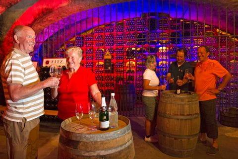 Weinverkostung im Weingut Fitz Ritter