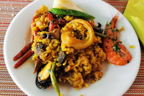 Paella in Fornalutx