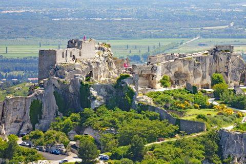 Ruin in Les Baux-de-Provence