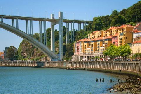 Brücke bei Porto