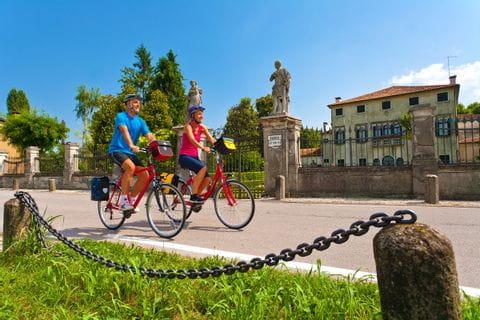 Radler durch Venetien