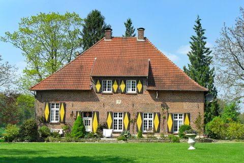 Typical landhouse in Münsterland