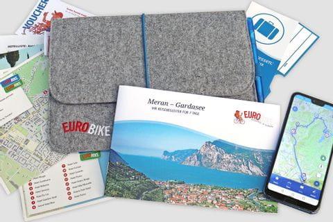 Alle Eurobike Reiseunterlagen für die Radtour