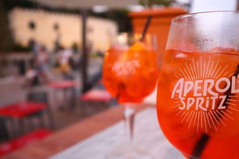 Aperol in Castiglincello
