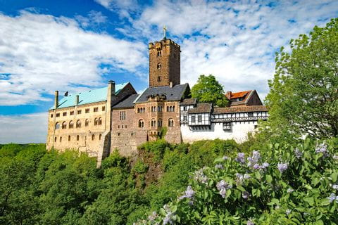 Castle Wartburg in Eisenach