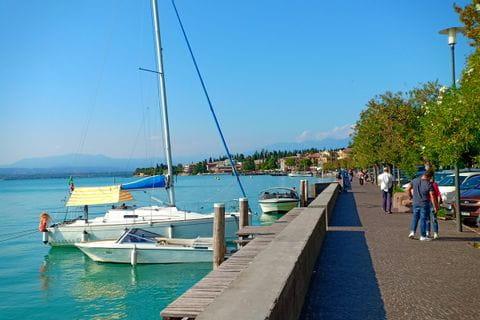 Esplanade at Lake Garda