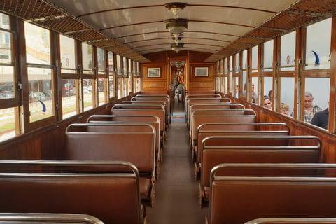 Roter Blitz Nostalgiebahn in Soller