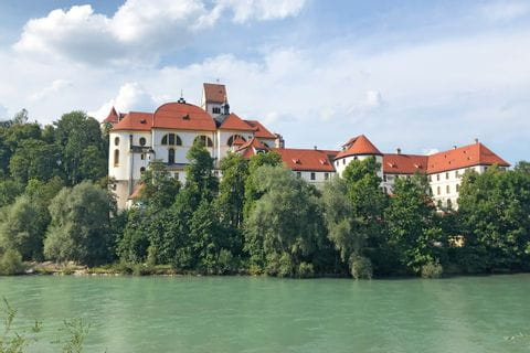Blick auf das Hohe Schloss