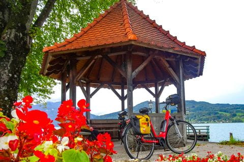 Bike on the Lake Attersee