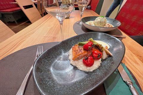 Abendessen in Linz