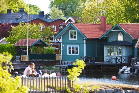 Houses in Vaxholm